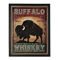 Buffalo Wiskey Framed Art Print