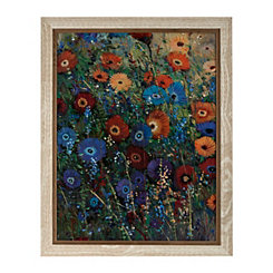Flower Patch Framed Art Print