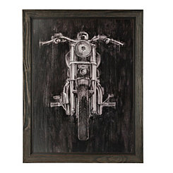 Steel Horse Framed Art Print