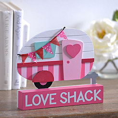 Love Shack Camper Word Block