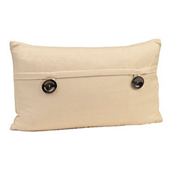 Tan Capule Button Pillow