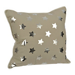 Tan Stars Kids Pillow