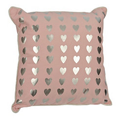 Pink Hearts Kids Pillow