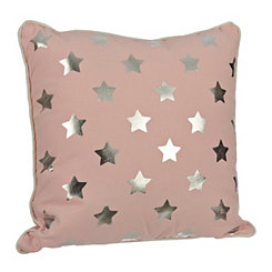 Pink Stars Kids Pillow