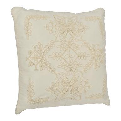 White Scroll Rope Applique Pillow. Throw Pillows   Decorative Pillows   Kirklands