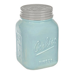 Blue Vintage Cookie Jar