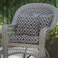 Titan Onyx Outdoor Accent Pillows, Set of 2