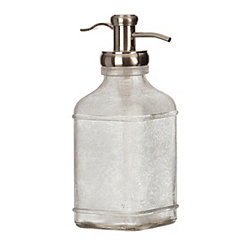 Frosted Gray Soap Pump