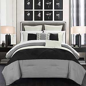 Greta Silver 7-pc. King Comforter Set