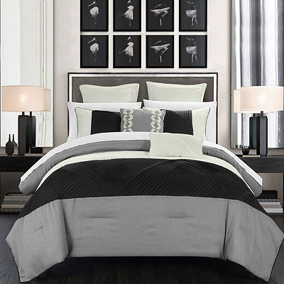 Greta Silver 7-pc. King Comforter Set