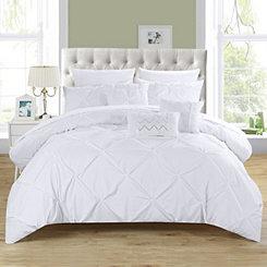 Valentina White 8-pc. Twin Comforter Set