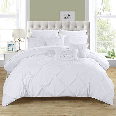 Valentina White 10-pc. Queen Comforter Set