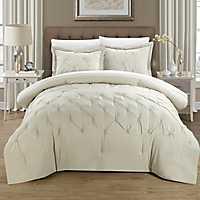 Veronica Beige 8-pc. Queen Comforter Set