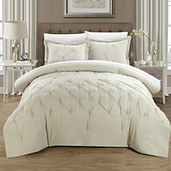 Veronica Beige 8-pc. Queen Comforter Set