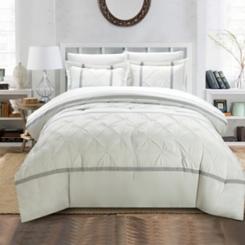Veronica White 8-pc. Queen Comforter Set