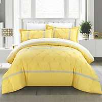 Veronica Yellow 8-pc. King Comforter Set