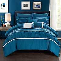 Wanda Teal 10-pc. Queen Comforter Set