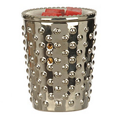 Silver Hobnail Wax Warmer