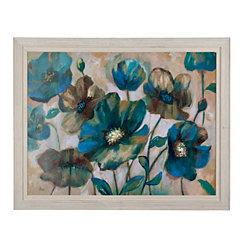Indigo Garden Framed Art Print