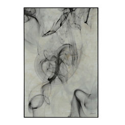 Abstract Smoke Framed Art Print