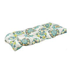 Floral Suzani Outdoor Settee Cushion