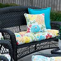 Spring Bling Outdoor Settee Cushion
