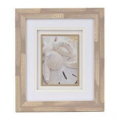 Neutral Shells Framed Art Print