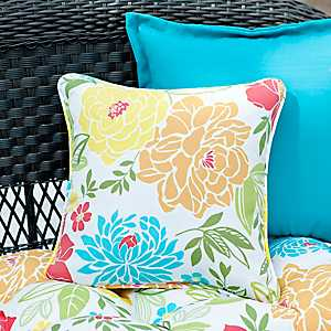 Spring Bling Outdoor Pillows, Set of 2