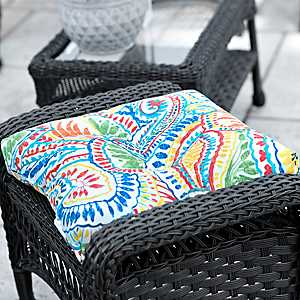 Multicolor Ummi Outdoor Ottoman Cushion