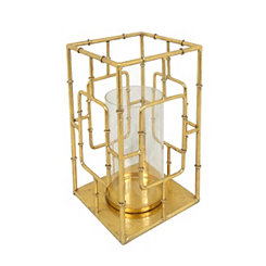 Gold Bamboo Metal Hurricane