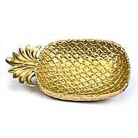 Golden Pineapple Plate