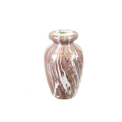Rose Marble Ceramic Vase