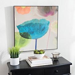 Bright Florals II Framed Art Print
