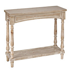 Weathered Brown Arched Console Table