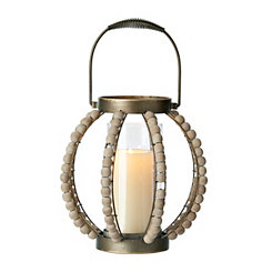 Sophia Zinc and Glass Lantern