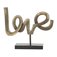 Bronze Love Finial