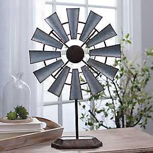 Galvanized Windmill Finial