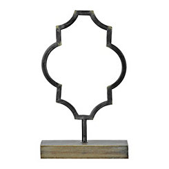 Bronze Quatrefoil Finial, 15 in.