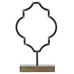 Bronze Quatrefoil Finial, 19.5 in.
