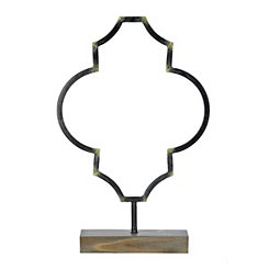 Bronze Quatrefoil Finial, 21.5 in.
