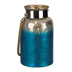 Ombre Blue Foil Thiva Lantern