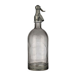 Antiqued Gray Spritzer Bottle