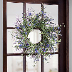 Lavender and Heather Mix Wreath