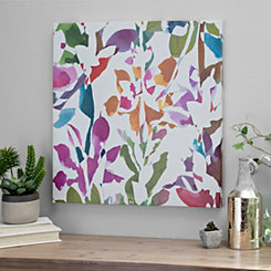 Bright Garden II Canvas Art Print