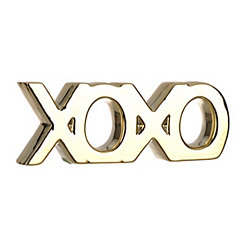 Gold XOXO Word Runner