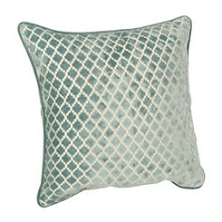 Spa Geometric Velvet Pillow