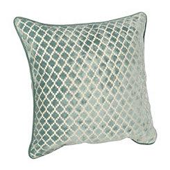 Spa Geometric Velvet Pillow