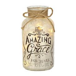 Pre-Lit Amazing Grace Jar