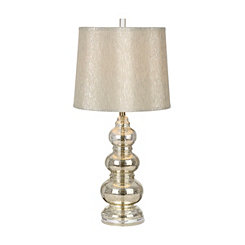 Silver Northbay Mercury Glass Table Lamp