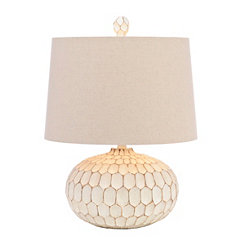 Cream Seneca Table Lamp